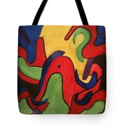 Chaotic Thought Tote Bag