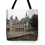 Chapel And Courtyard Chateau Blois Tote Bag