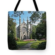 Chapel At Mt Auburn Cemetery Tote Bag