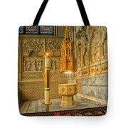 Chapel At Saint Patricks Cathedral Tote Bag
