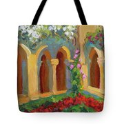 Chapel At St. Remy Tote Bag