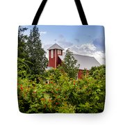 Chapel At The Antique Rose Emporium Tote Bag