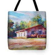 Chapel Hill Creamery Barn Tote Bag