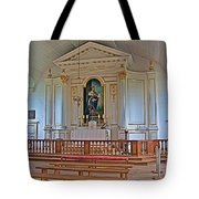Chapel In King's Bastion In Louisbourg Living History Museum-174 Tote Bag