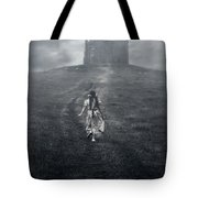 Chapel In Mist Tote Bag