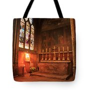 Chapel In St Severin Church Paris Tote Bag