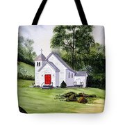 Chapel In The Mounts Tote Bag