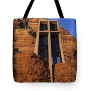Chapel In The Rock Tote Bag