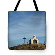 Chapel In The Sea Tote Bag