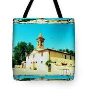 Chapel In The Sun Tote Bag