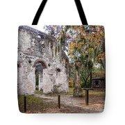Chapel Of Ease Ruins And Mausoleum St. Helena Island South Car Tote Bag