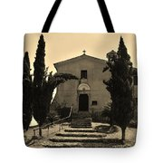 Chapel Of San Amasio Tote Bag