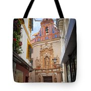 Chapel Of St. Joseph Of Seville Tote Bag by Artur Bogacki