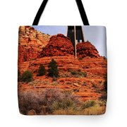 Chapel Of The Holy Cross 3 Tote Bag