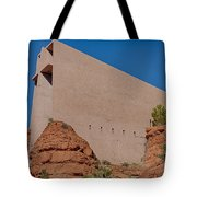 Chapel Of The Holy Cross Sedona Az Side Tote Bag