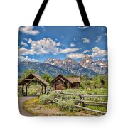 Chapel Of Transfiguration Tote Bag