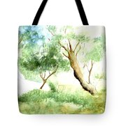 Chapel On The Beach Tote Bag