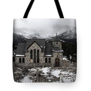 Chapel On The Rock - 3 Tote Bag
