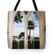 Chapel Palmetto Bluff Sc Tote Bag