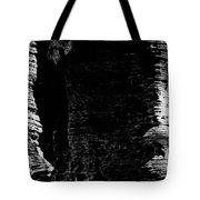 Chapel Rock Foundations Bw Tote Bag