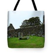 Chapel Ruins At Dunvegan Tote Bag