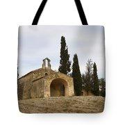 Chapelle Saint Sixte Tote Bag