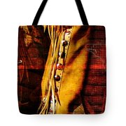 Chaps And Boots Tote Bag