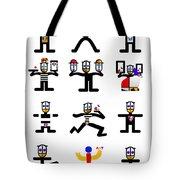 Character Act Tote Bag