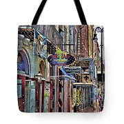 Characteristics Of New Orleans  V2 Tote Bag