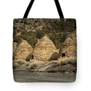 Charcoal Kilns #4 Tote Bag