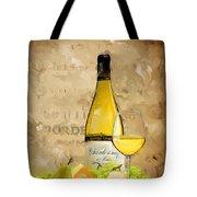 Chardonnay Iv Tote Bag
