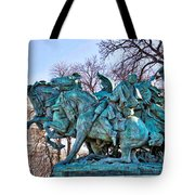 Charge On The Capitol Tote Bag
