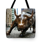 Charging Bull 1 Tote Bag