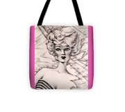 Charice Doll Tote Bag