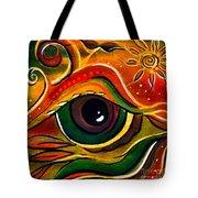 Charismatic Spirit Eye Tote Bag