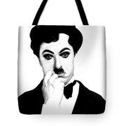 Charles Chaplin Tote Bag