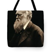 Charles Darwin By Julia Margaret Tote Bag