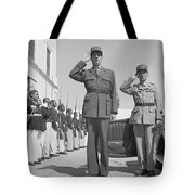 Charles De Gaulle In Carthage Tunisia 1943 Tote Bag