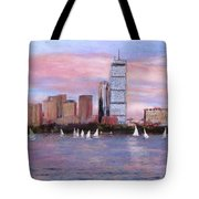 Charles River Boston Tote Bag