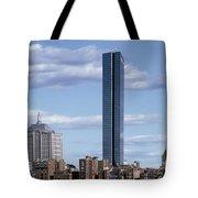 Charles River In Boston Tote Bag