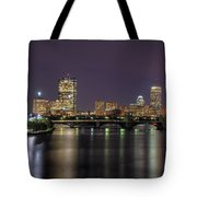 Charles River Reflections - Boston Tote Bag by Joann Vitali