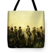 Charles Rochussen Napoleon Met Zijn Staf Tote Bag