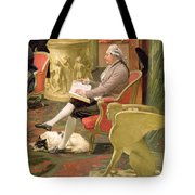 Charles Townley And His Friends Tote Bag