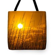 Charleston Beach Sunrise Tote Bag