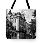 Charleston Corner Charleston Sc Tote Bag by William Dey