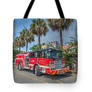 Charleston Fire Dept  Tote Bag