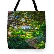 Charleston Sc Gardens Tote Bag