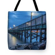 Charleston Harbor 3 Tote Bag