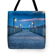 Charleston Harbor Tote Bag
