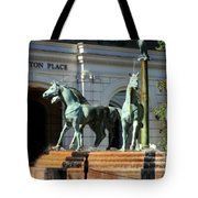 Charleston Place Tote Bag by Karen Wiles